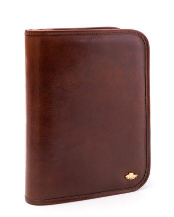 Leather agenda cover