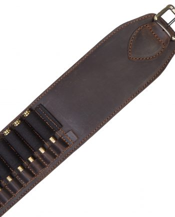 Leather cartridge belt for 30 bullets caliber 6 and similar