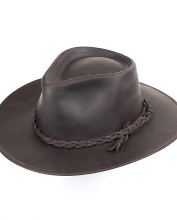 Australian styled leather hat
