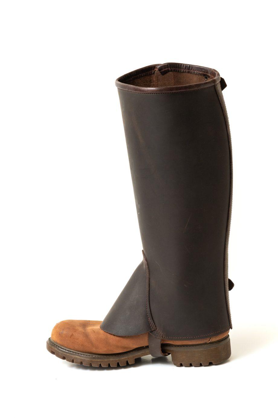 Leather mini chaps
