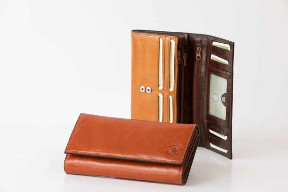 Leather lady wallet classic