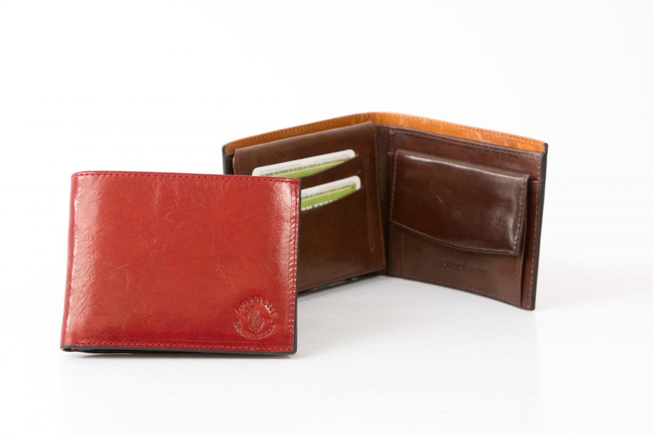 Leather man wallet classic