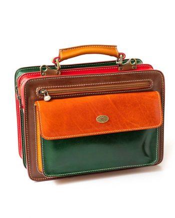Rigid bag multicolor